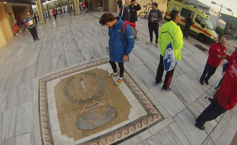 Filipovic Lazar maraton Atina
