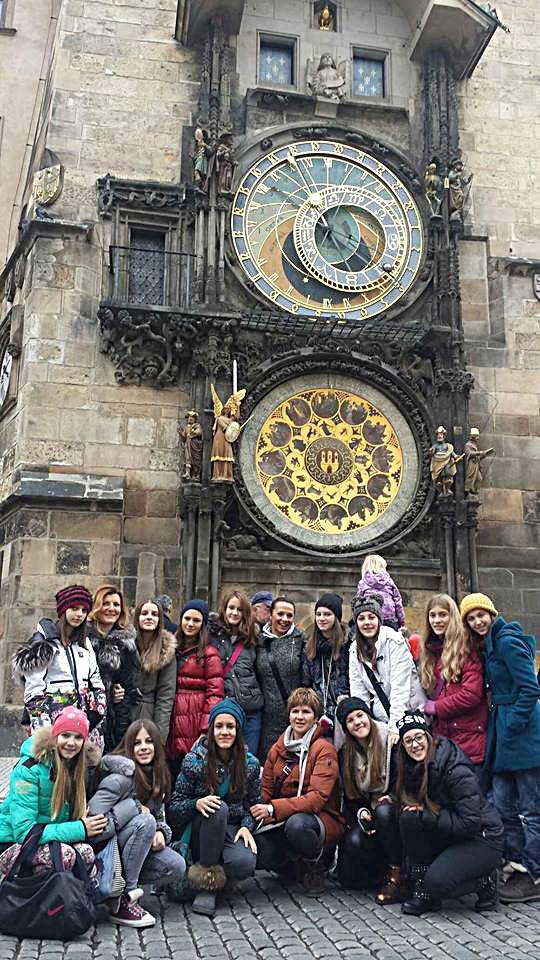 balerine u Pragu