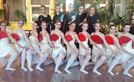 balerine na festivalu u pragu