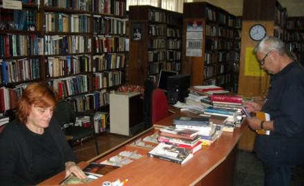 biblioteka, knjige