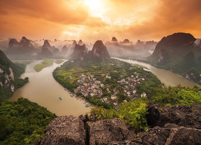 Yangshou, Kina