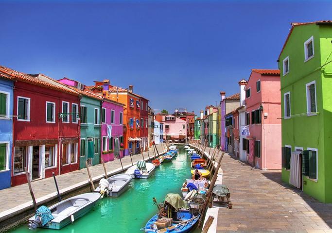 Burano, Venetian Lagoon, Italija