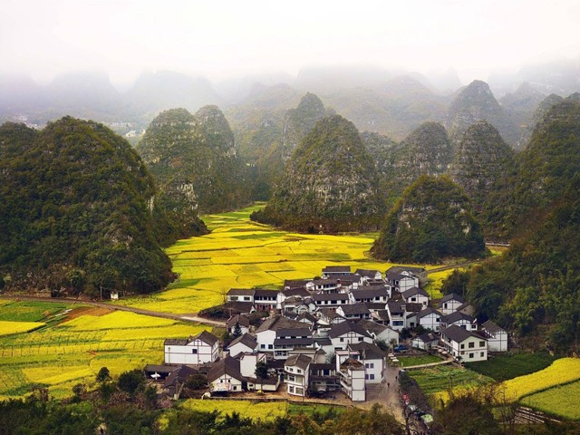 Tucked away Chinese village