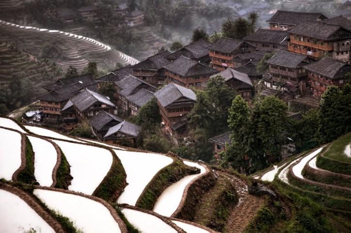 idden Mountain Village - Jiuzhaigou, Kina