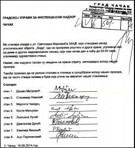 potpisi za zgradu