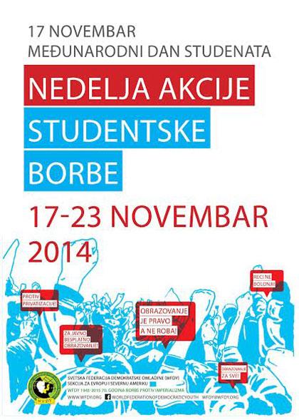 studenti u protestu