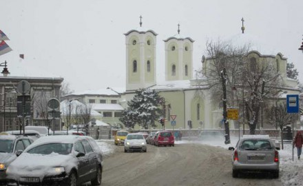 crkva zimi