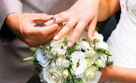 svadba, prsten