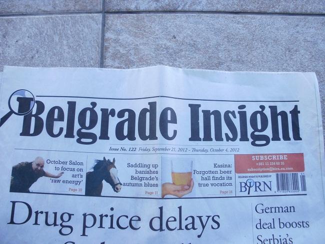 belgrade insight