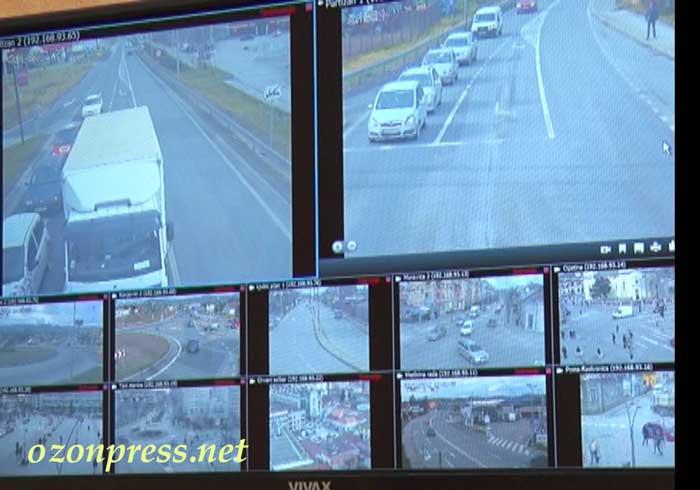 kamere policija