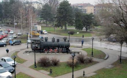 lokomotiva, mali park, čačak