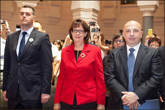 aubih-Bego-Gutic,-premijer-Vlade-tuzlanskog-kantona,-Mrs.-Cormack,-Mr