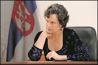 udvicki, ministarka