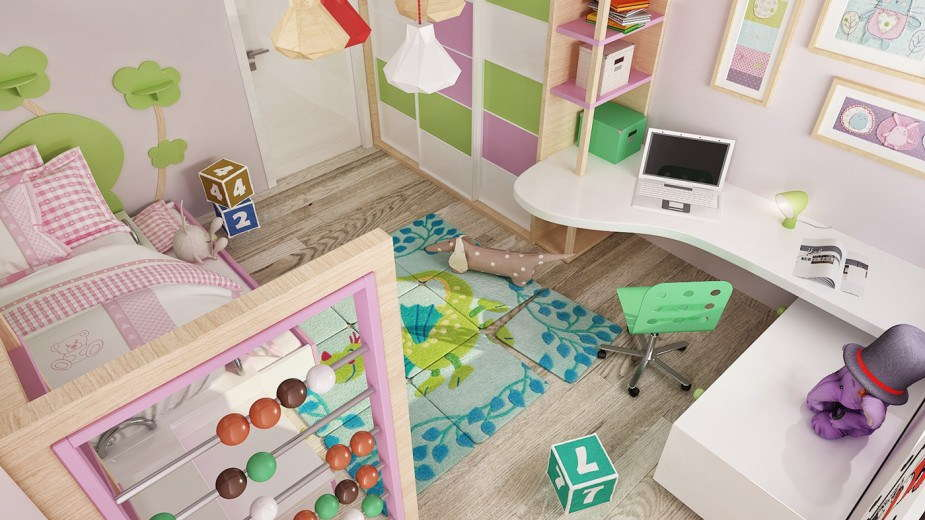 14 pink-and-green-kids-room-925x520