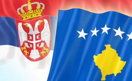 kosovo srbija zastave