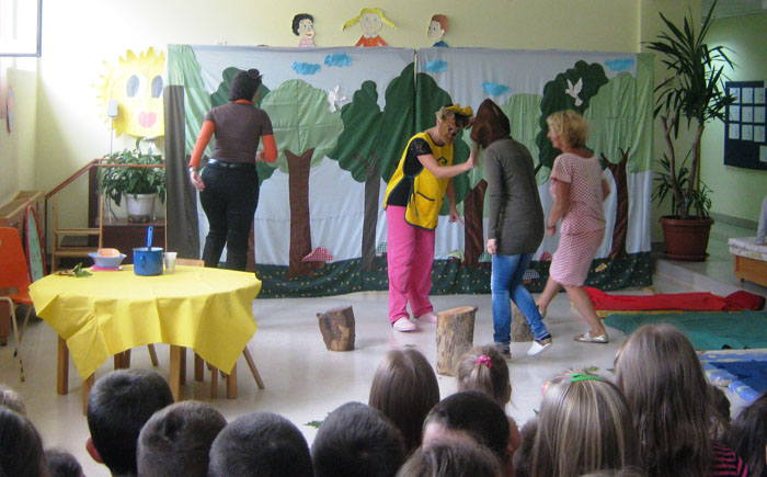 Predstava Zlatokosa
