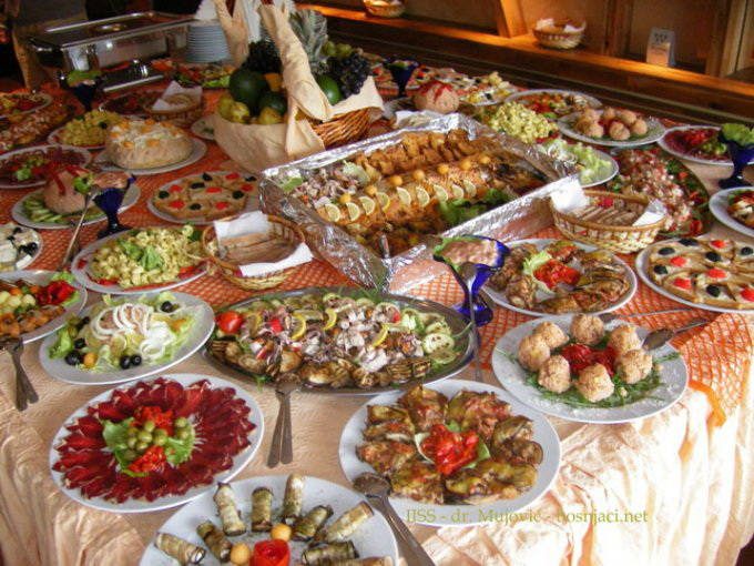 Hrana, svedski sto