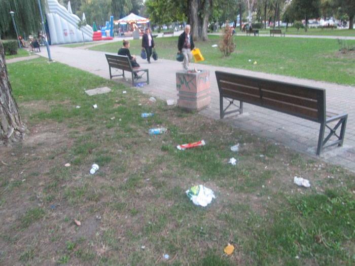 park smece