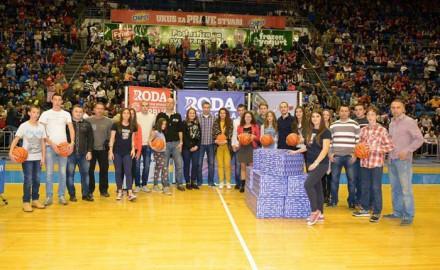 akcija roda, košarkaške lopte