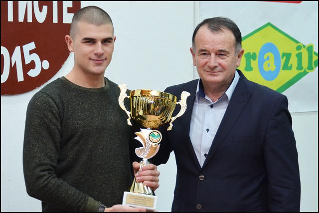 Stefan Stefanović i gradonačelnik Vojislav Ilić