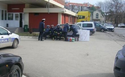 protest saobraćajne policije, čačak