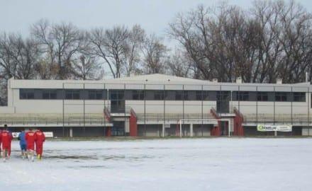 fk borac, zgrada
