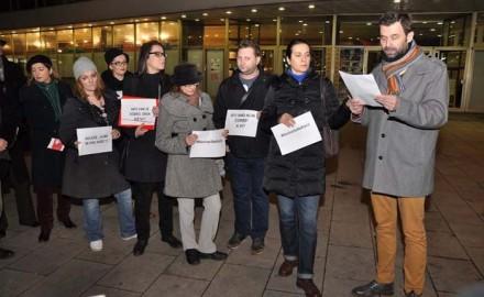 novinari, Protesti