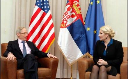 Majkl Kirbi i Zorana Mihajlović