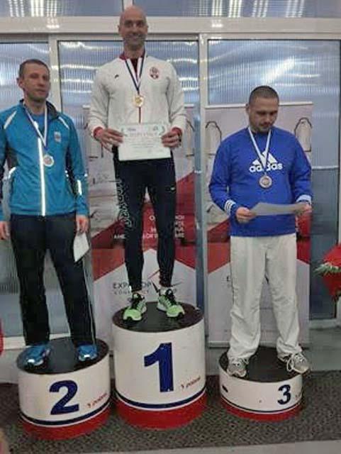 Dragan Nesovic pobednik trke na 800 metara