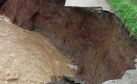 Jezevica, poplava