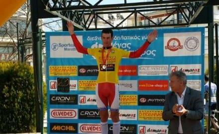 Marko Danilovic u zutoj majici simbol pobednika trke