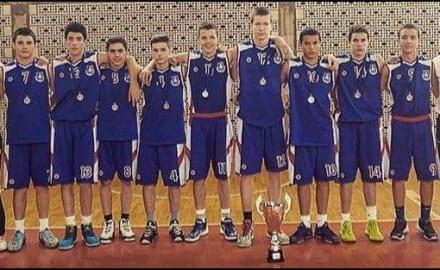 košarkaši OŠ Milica 2