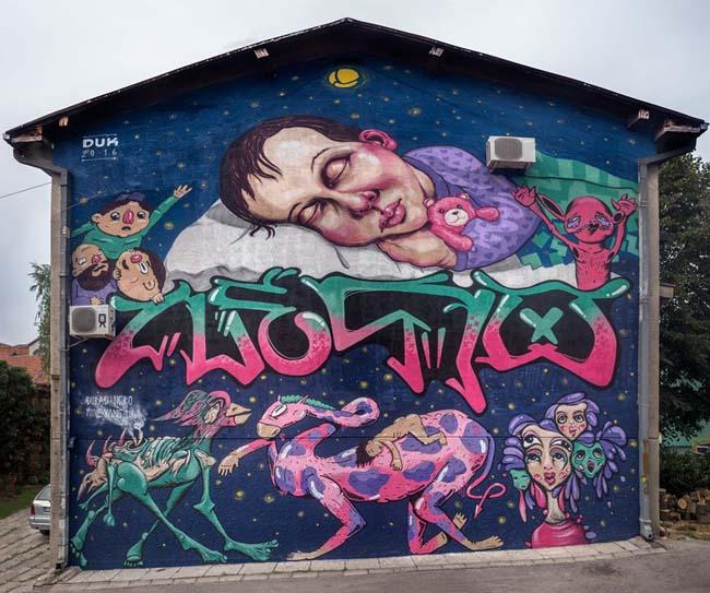 Grafiti, Čačak
