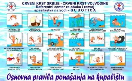 Osnovna pravila ponašanja na plaži
