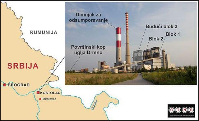 Ilustrovani-prikaz-sadašnjeg-izgleda-termoelektrane-Kostolac-B-i-njenog-novog-bloka,-19-km-od-Rumunije