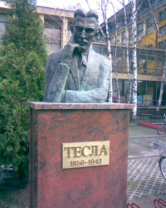Spomenik Nikola Tesla