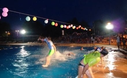 Igre na vodi, bazeni Čačak