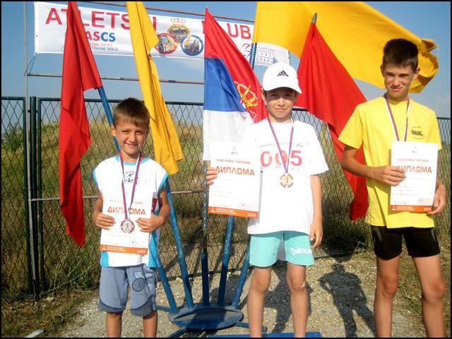 Vuk Grujić 2. mesto u atletskoj disciplini dvoboj