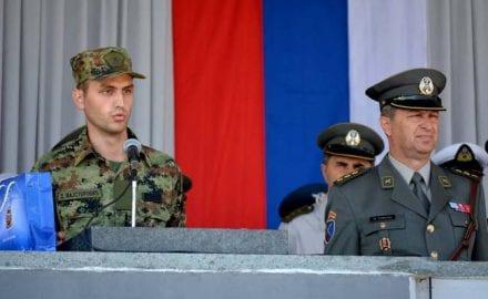 Dejan Majstorovic, skola rezervnih oficira