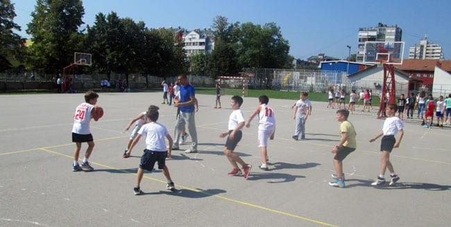Sportska nedelja u OŠ Milica Pavlović