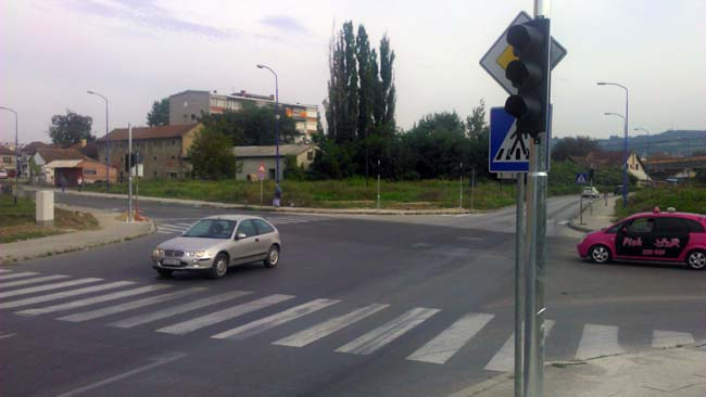 raskrsnica, semafori
