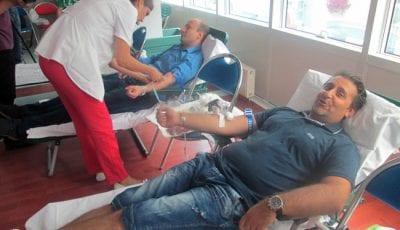 SNS, davanje krvi