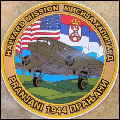 halyard-mission-logo-english-and-serbian-1944-pranjani