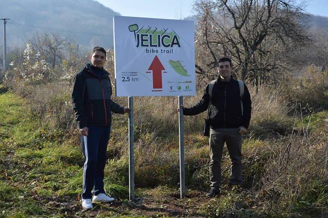 ''Jelica bike trail''
