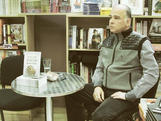 Vladan Matijević, Noć knjige