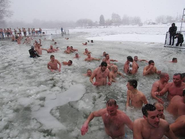 plivanje za krst