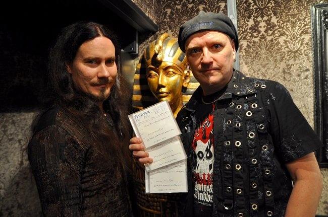 Tuomas Holopainen (Nightwish)& Mika Jussila