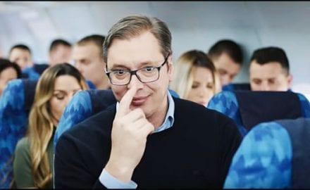 Vučić-pilot