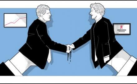 krik rukovanje