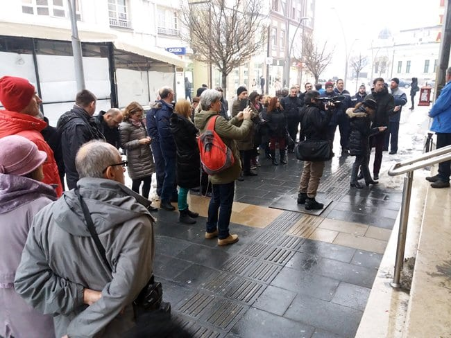 protest pošta